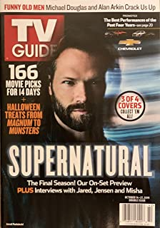 TV GUIDE WEEKLY MAGAZINE - OCT. 14-27, 2019 - SUPERNATURAL 3 OF 4 COVERS ( JARED PADALECKI )