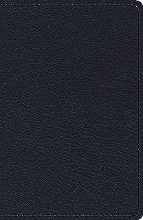 Holy Bible: Esv Heirloom Single Column Legacy Bible Goatskin, Blue
