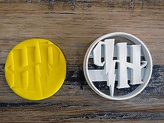 ELACE Emporte-pièce Harry Pottter Logo HP- Patisserie, sablé, Biscuit, pâte à Sucre, pâte à Modeler-Décoration gâteau-Fait...