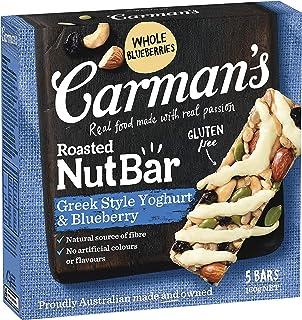 Carman's Nut Bar Greek Style Yoghurt & Blueberry, 5-pack (160g)