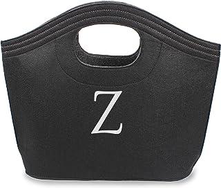 Cathy's Concepts Felt Carry-All Tote, Black Z Black 2136B-Z