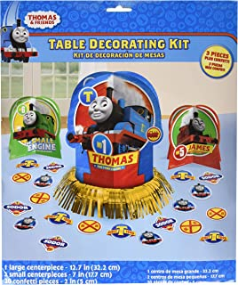 amscan Thomas The Tank Engine Centerpiece Table Decorating Kit 23 Count Birthday Party