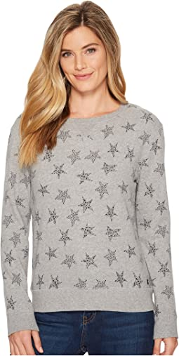 All Over Stars Crew Sweatshirt