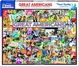 White Mountain Puzzles 1291 Great Americans