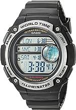 Casio Men's 'Classic' Quartz Resin Casual Watch, Color:Black (Model: AE-3000W-1AVCF)