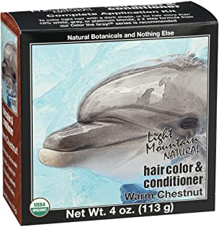 Best LIGHT MOUNTAIN Hair Color Hair Color Warm Chestnut, 0.02 Pound Review