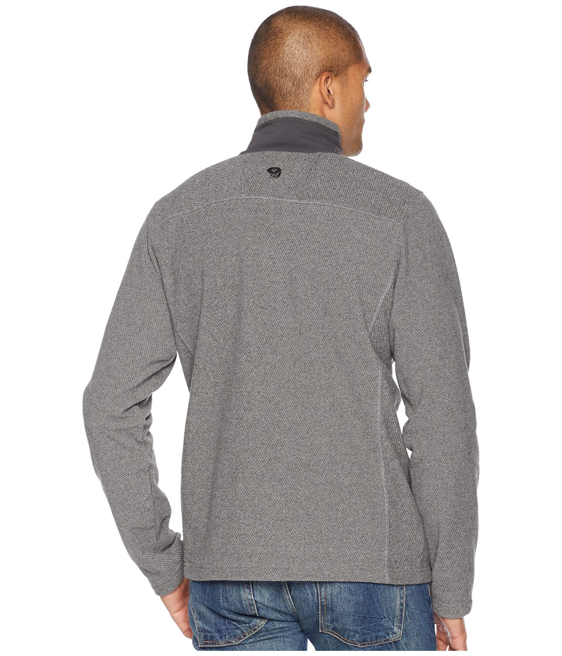 Twill 1 Fleece Hardwear Mountain Toasty 2 Zip Manta Grey E1FFZqw