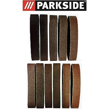 Stand Ponçeuse à bande abrasives 5 pcs 50 mm x 686 mm p80 adapté pour Güde