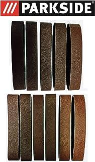 comprar comparacion Juego de 11 piezas Premium lija 50 x 686 mm, grano 60 – 120 para lijadora Parkside Stand psbs-30 240 B2 tambié...