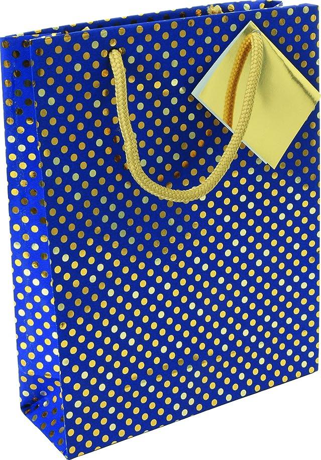 Clairefontaine Blue Night Medium Gift Bag, 17x6x22cm