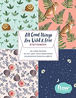 All Good Things Are Wild and Free Stationery (Flow)