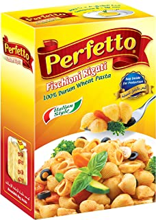 Perfetto Fischioni Rigati Pasta - 500 gm