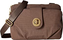 Toronto Double Zip Crossbody