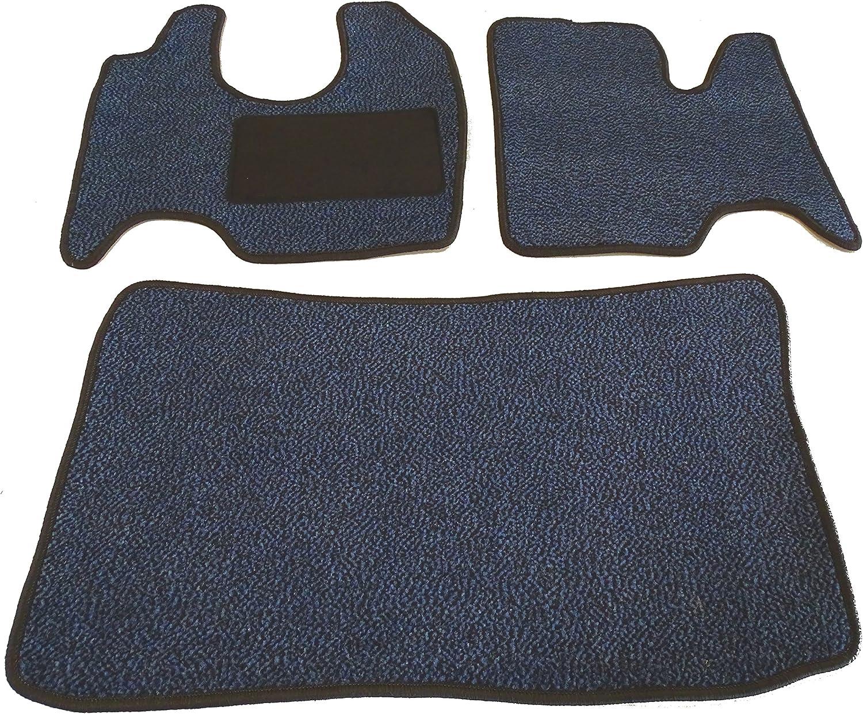 Magic Mats Fußmatte 3 Teilig Sfo 5282 Schmutzfangmatte In 6 Farben Blau Ago2 Auto