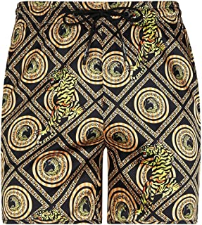 0610bc4cb2 Ed Hardy Tiger Baroque Black Swim Shorts