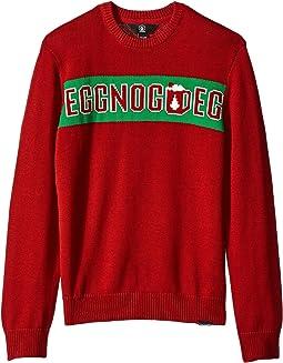 Strange Eggnog Sweater (Big Kids)