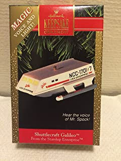 Hallmark Shuttlecraft Galileo - 1992 Keepsake Ornament