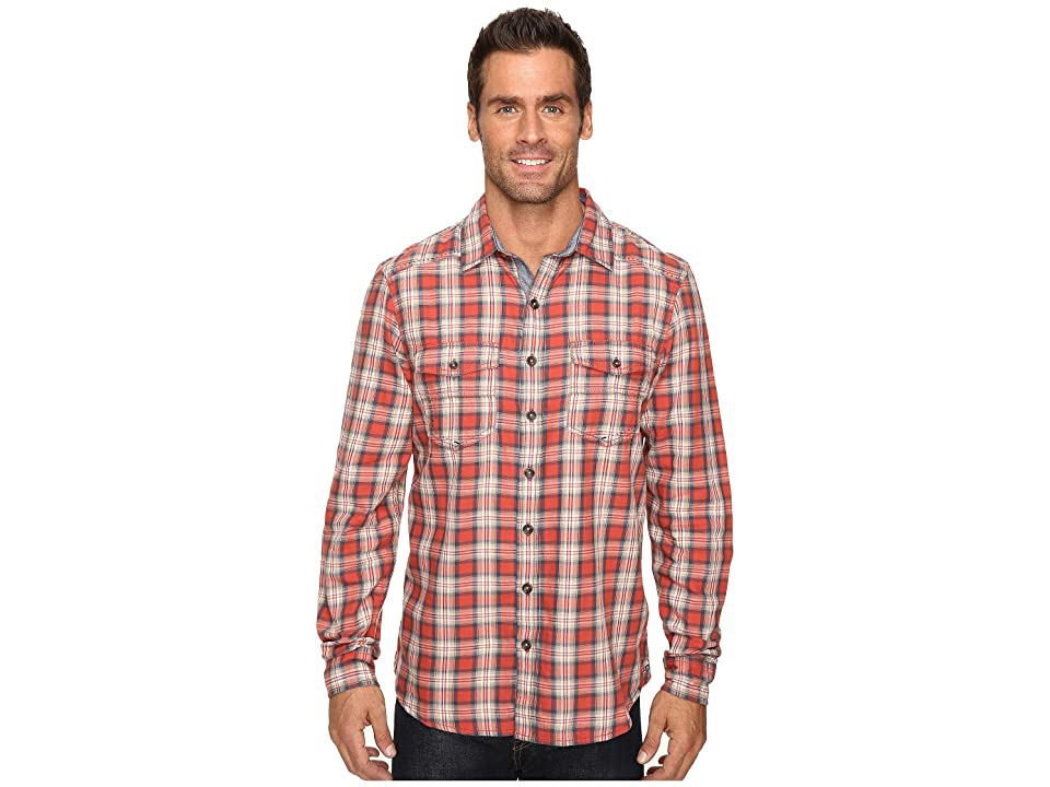 Ecoths Dax Long Sleeve Shirt (Tabasco) Men