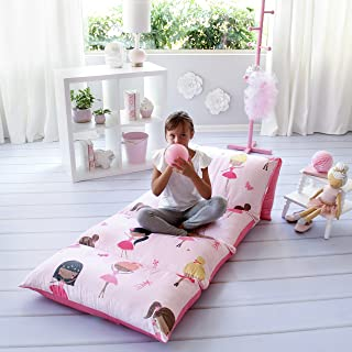 Butterfly Craze Pillow Bed Floor Lounger Cover - Perfect for Pillow Recliners & Kid Beds for Reading Playing Games or at a...