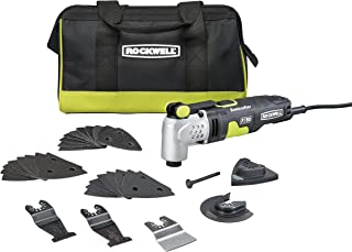 Rockwell RK5142K 4.0 Amp Sonicrafter F50 Oscillating Multi-Tool, with Variable Speed,..