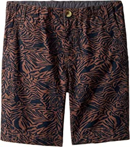 Zebra Shorts (Toddler/Little Kids/Big Kids)