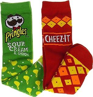Snack Sock Bundle - Sour Cream & Onion Pringles & Cheez-It Socks