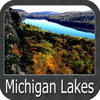 Michigan Lakes gps navigator
