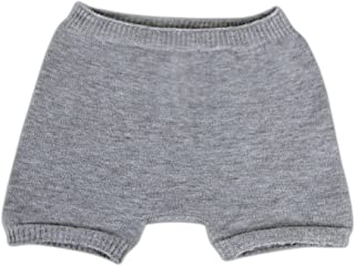 SmartKnitKIDS Boxer Brief Style Seamless Sensitivity Undies (Grey, Medium)
