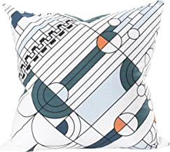 KAF Home Frank Lloyd Wright Printed Throw Pillow Cover 20 x 20-inch 100-Percent Cotton (Saguaro)