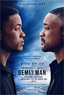 Gemini Man Movie Poster Glossy High Quality Print Photo Wall Art Will Smith Clive Owen Size 11x17#1