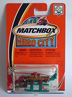 MATCHBOX 2002 Hero City Collection - #47 Air-Lift Helicopter