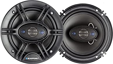 Blaupunkt 6.5-Inch 360W 4-Way Coaxial Car Audio Speaker, Set of 2 photo