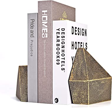 Decorative Bookend Or Abstract Sculpture Art 2pcs Bronze - Ambipolar