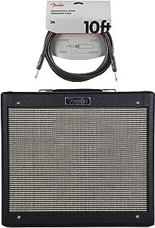 Fender Blues Jr. IV 1x12 Combo Black Cable Bundle