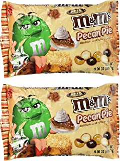 M&Ms Pecan Pie Limited Edition Fall Milk Chocolate 9.90 Ounce Bag, 2 Pack