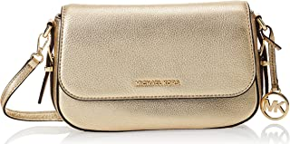 MICHAEL KORS Womens Large Flap Xbody Bag, Pale Gold