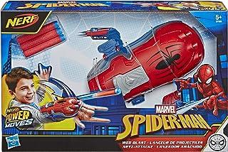 Marvel Spider-Man - Lanceur de projectiles - Nerf Power Moves - Jouet Spider-Man