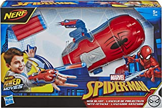 Marvel Spider-Man - Lanceur de projectiles - Nerf Power Moves - Jouet Spider-Man