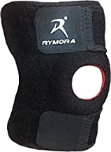 Knee Compression Sleeve Support Brace - for Joint Pain, Arthritis, Injury Recovery, Meniscus Tear, ACL, MCL, Tendonitis, Running, Squats, Sports (Single Pack)