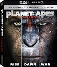 Planet of the Apes 1-3 Trilogy 4K Ultra HD Digital