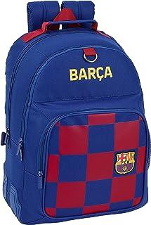 FC Barcelona Mochila Doble Escolar con cantoneras