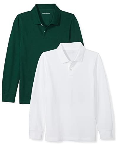 e0727a2c1706 Medium Dark Green Polo Shirts: Amazon.com