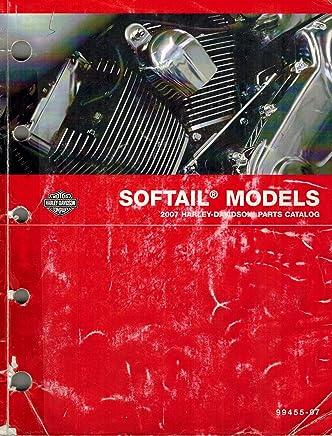 2007 Harley-Davidson Softail Models Parts Catalog, Part Number 99455-07