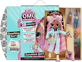 LOL Surprise OMG Fashion Doll SUNSHINE GURL - Met 20 verrassingen, Designer kleding, modieuze accessoires - Pakket speelse...