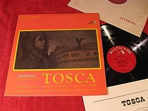 Tosca; Giacomo Puccini Hightlights; Leontyne Price; Giuseppe di Stefano; Taddei; Herbert von Karajan; 1965 Vinyl LP