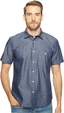 Short Sleeve Mini Bikini Print Shirt