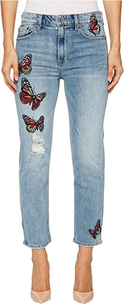Bridgette Slim Straight Jeans in Alamitos