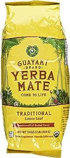 Guayaki Traditional Organic Yerba Mate, Loose Tea, 16 Ounce