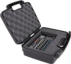 Casematix Pro Audio Equipment Hard Case with Foam Compatible with Roland VT-4, Super UA, Rubix22, R-26, GO:MIXER Pro, SPD ...