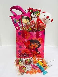 Gift Set Kids Dora The Explorer Valentine's Day (1) Dora The Explorer Goodie Pack (1) Gift Bag (1) Assorted Goodies